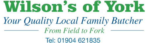 Wilson's of York Butchers Logo